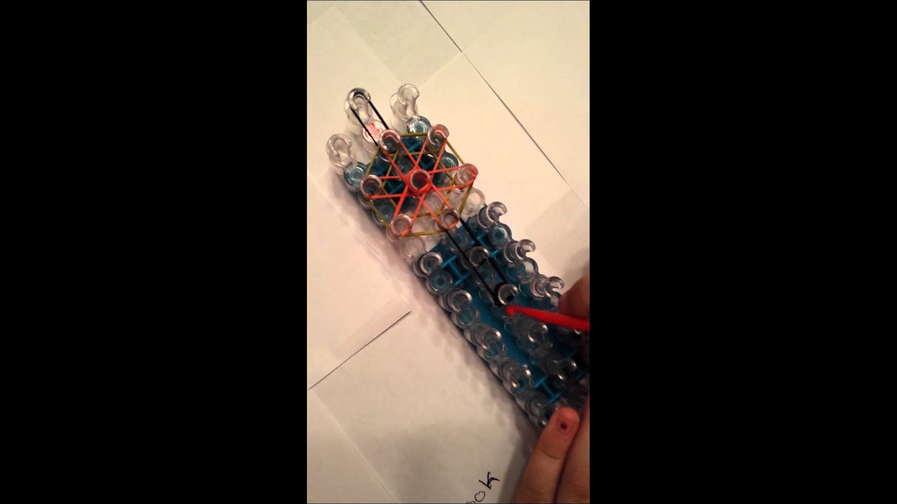 how to make starburst ring on the rainbow loom youtube