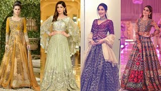 Latest Eid Dresses Collection For Girls