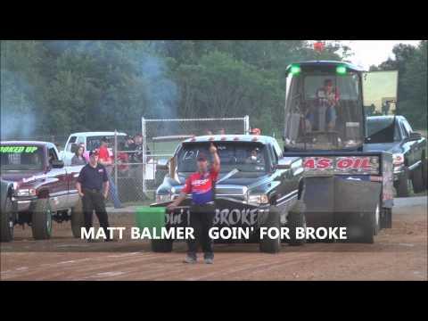 East Coast Pullers Diesel Truck Pull At Buck Motorsports Park - June 15, 2013