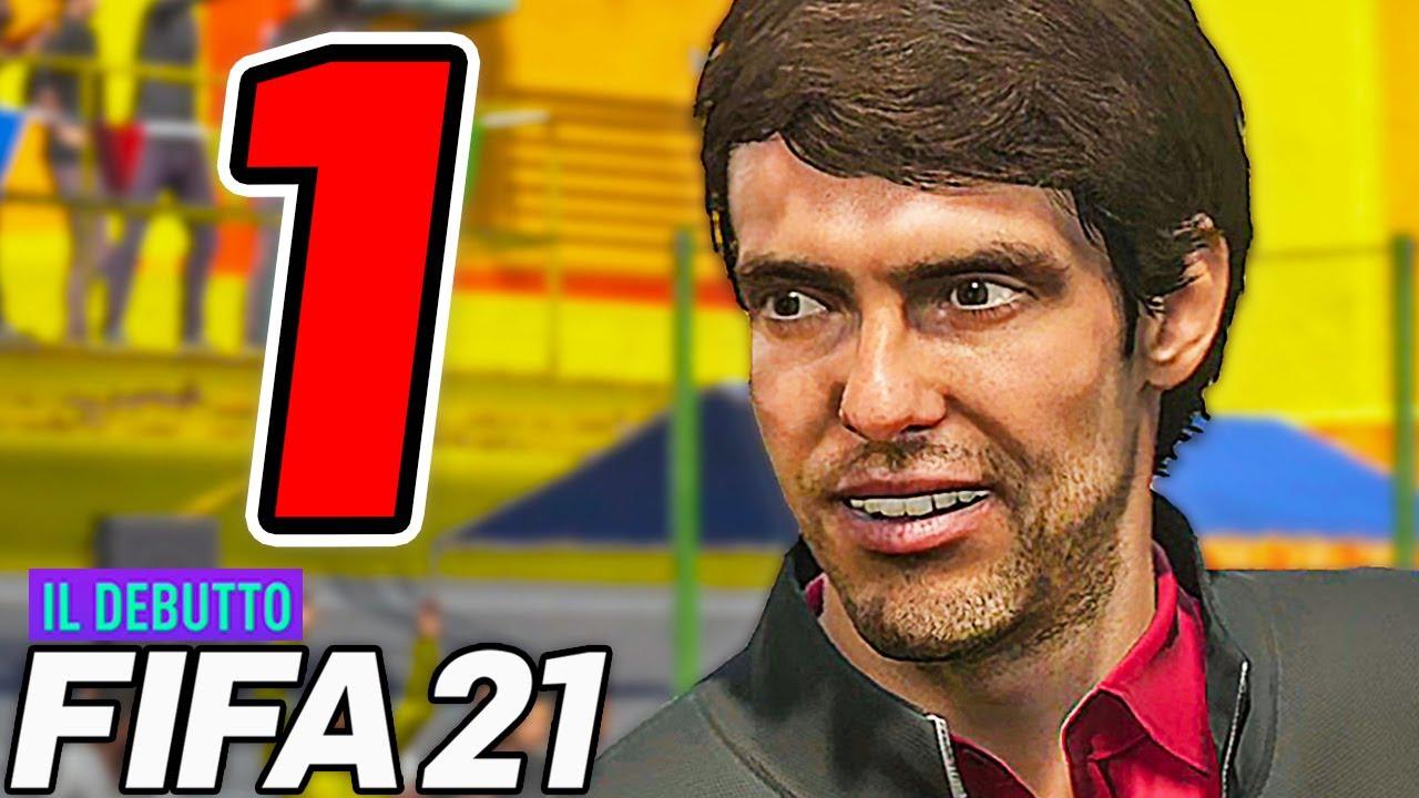 FIFA 21 THE DEBUT [Walkthrough Gameplay ITA HD - PARTE 1] - FIFA STREET con KAKÀ!!