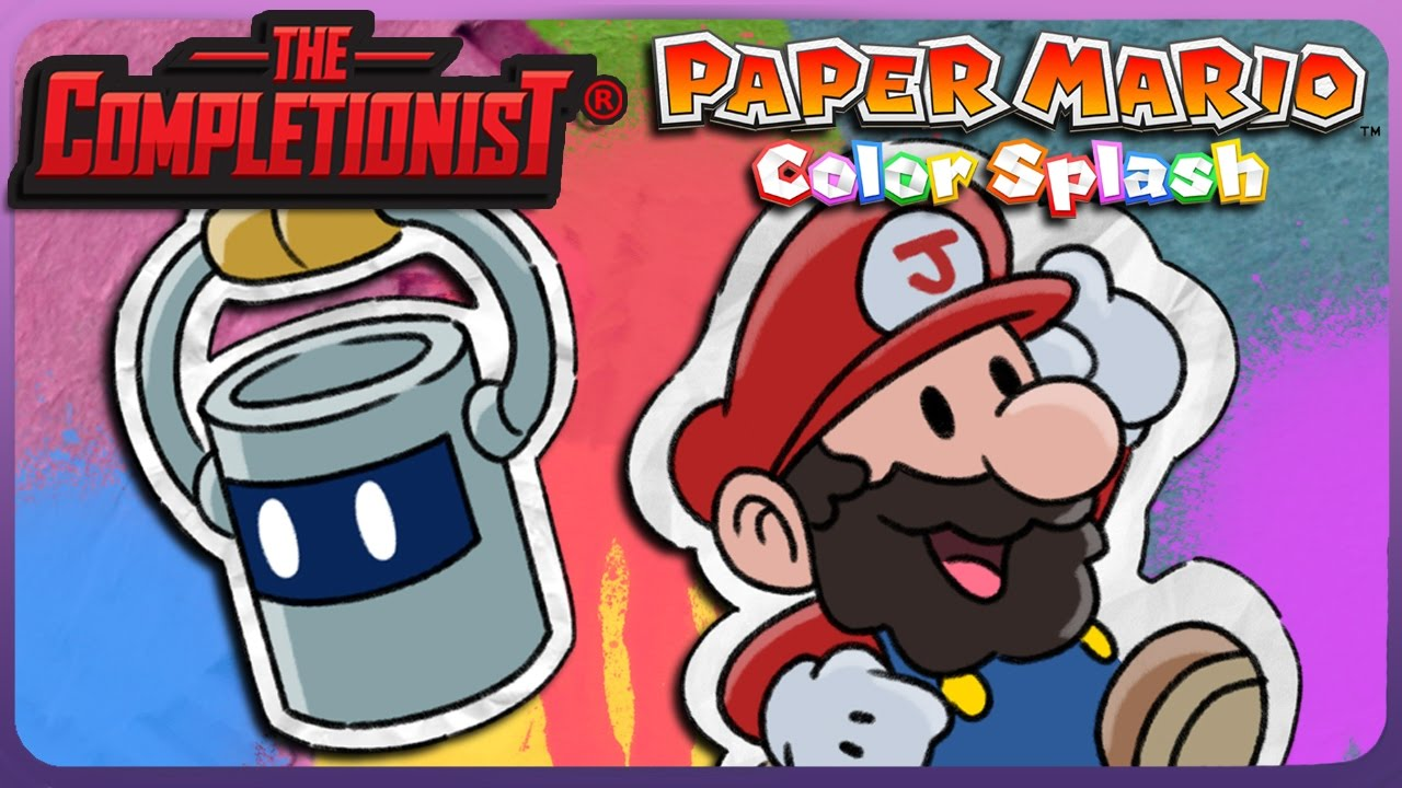 Paper Mario Color Splash The Completionist