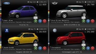 Gran Turismo PSP - European city cars test & comparison