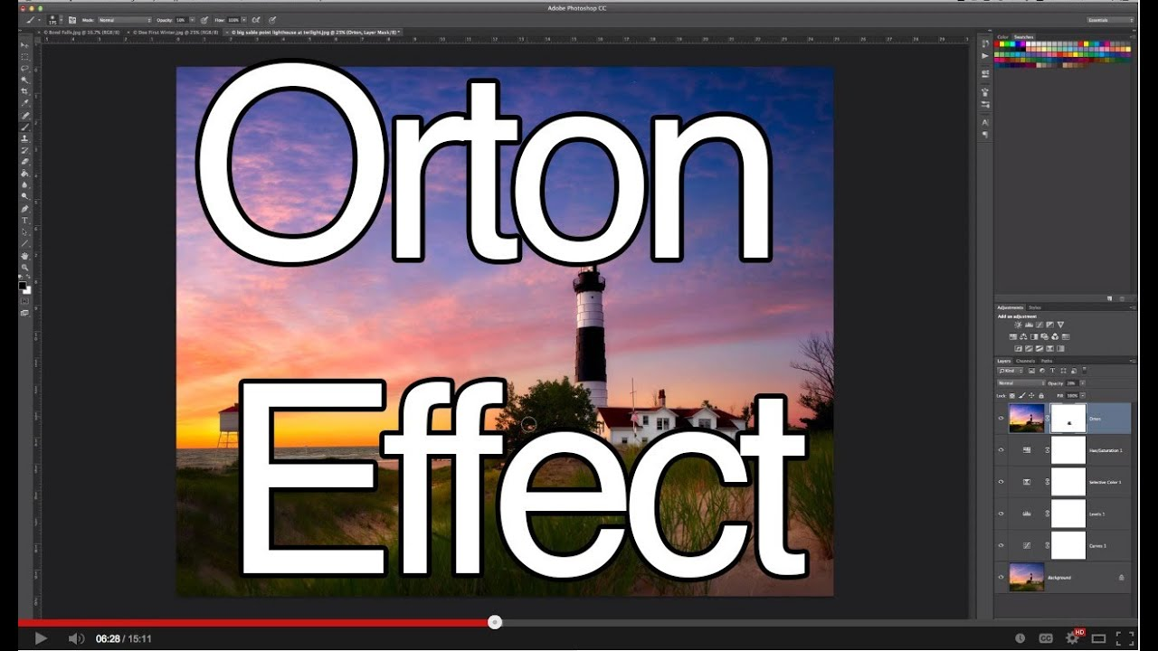 Orton Effect - Add A Soft Focus Glow To Your Photos - YouTube