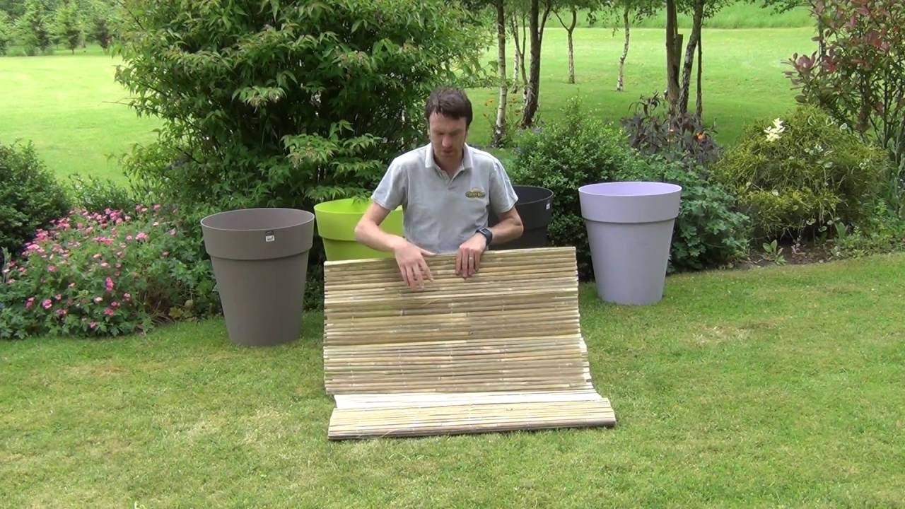 bamboo fencing screen youtube