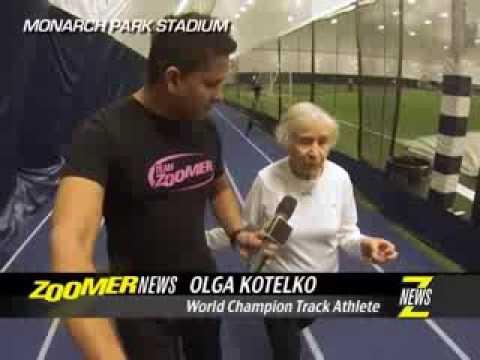 ZNews - Olga Kotelko: 95 year old Track & Field Champion