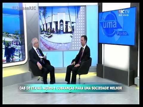 OAB Itajaí: Entrevista Jornal Meio Dia da RIC TV Record - 2005