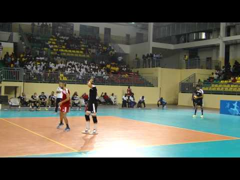 Egypt v Botswana in Men's All Africa Games- Volleyball