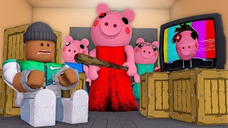 Roblox Animation - ESCAPE PIGGY'S HOUSE OR DIE!