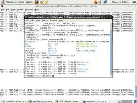 Clone Managed Server in Weblogic Server 9.2.3.