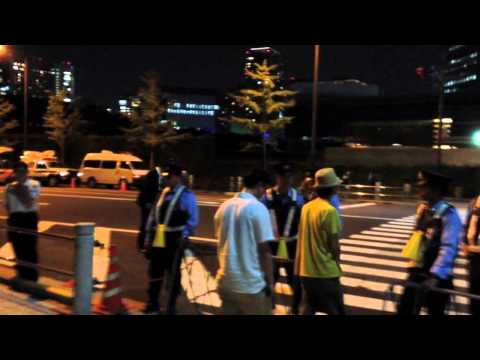 Tokyo Anti-Nuclear Protesters Still Refusing to Stand Down During Ho