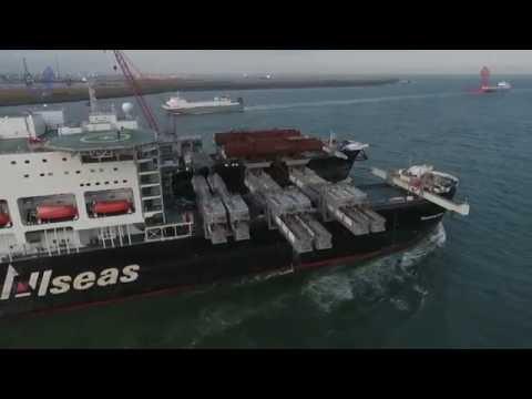 """Pioneering Spirit"" Departure Rotterdam"