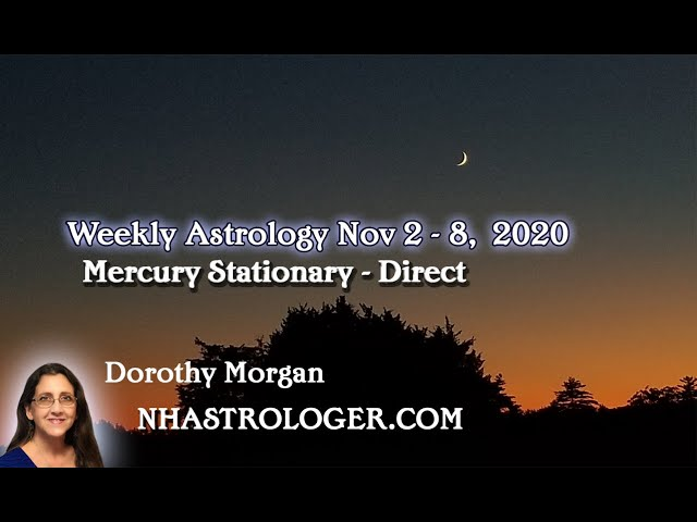 November 2nd – 8th This Week Will Feel A Bit Rough For Many - Mercury Direct