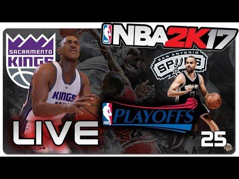 PLAYOFFS | NBA 2K17 MyCareer - Dificuldade Superstar | LIVESTREAM #86