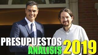PRESUPUESTOS GENERALES del ESTADO 2019 - ANÁLISIS y OPINIÓN