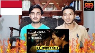 Foreigner Reacts To: Virgoun - Surat Cinta Untuk Starla (Official Music Video)