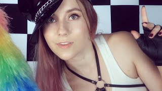 ASMR ♥ You are in my Trap ♥ EAR MASSAGE & BRUSHING & MASSAGE ♥ Come to the dark side! 😎