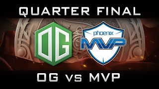 OG vs MVP Quarter Final The International 2016 TI6 Highlights Dota 2
