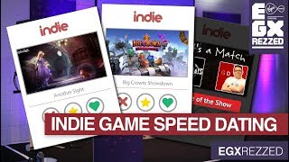 Indie Game Speed Dating at EGX Rezzed 2018