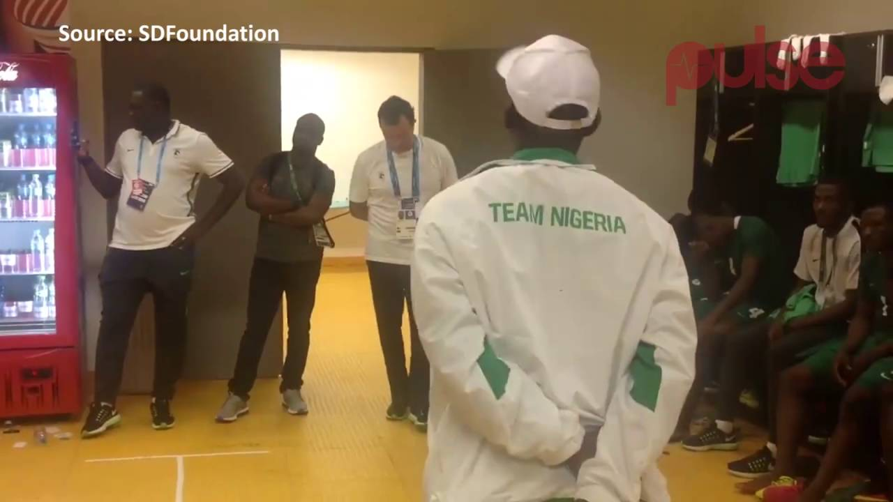 Nigeria's Sports Minister Apologises To The Nigerian Olympic Soccer Team For The Travel Chaos