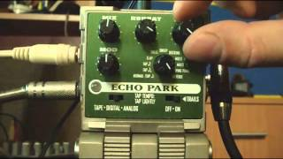 Line 6 Echo Park Stereo All Modes All presets test