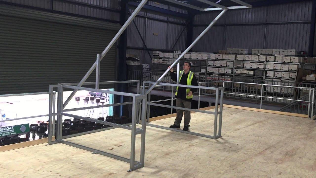 Mezzanine Pallet Safety Gate From Mezzanine Floor Builders
