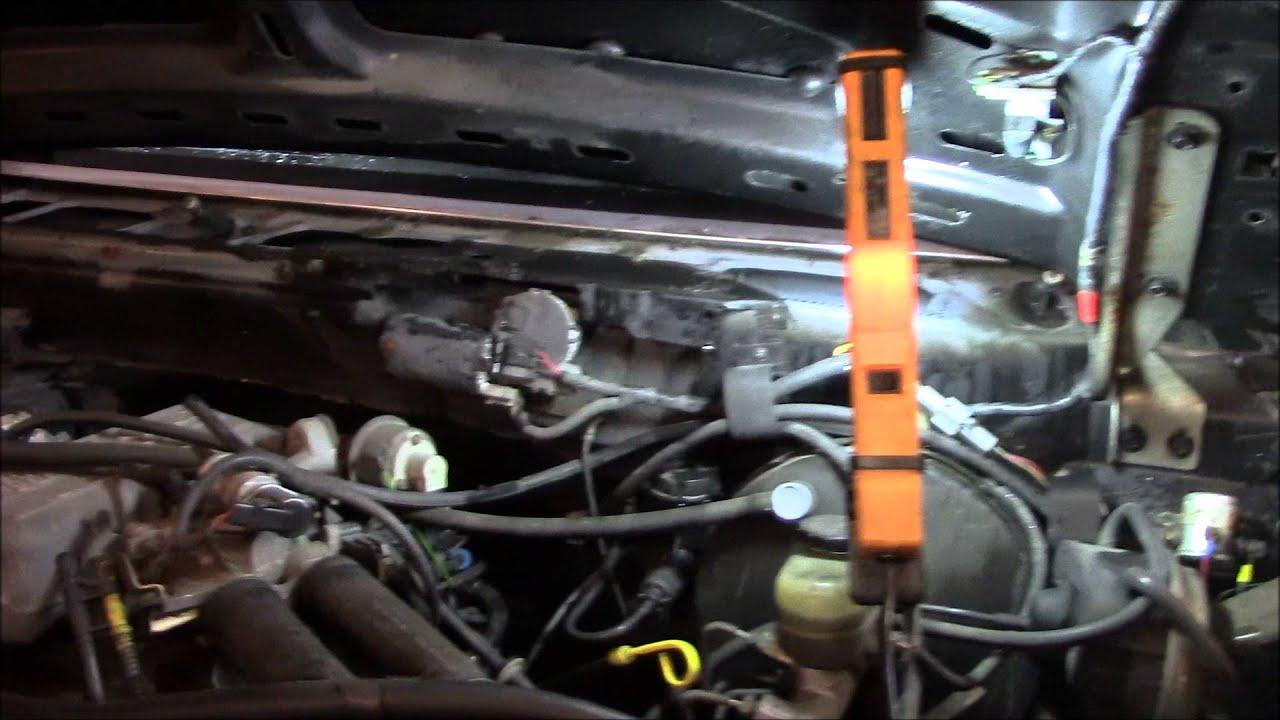 Replacing Ford F 150 Windshield Wiper Motor