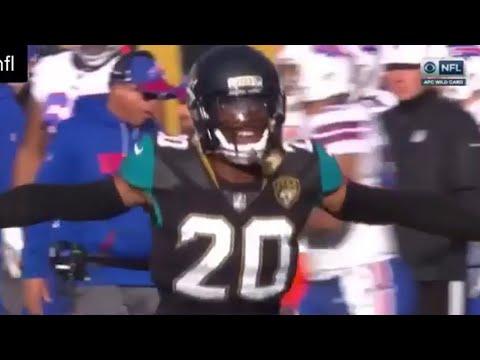 Jalen Ramsey Interception | Bills Vs Jaguars | Nathan Peterman Interception