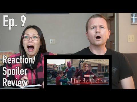 WandaVision Ep. 9 // Reaction & Spoiler Review - The Movie Couple
