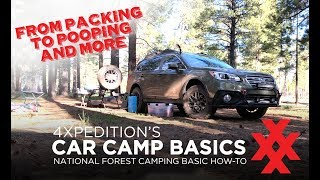 Car Camping Basics by 4XPEDITION