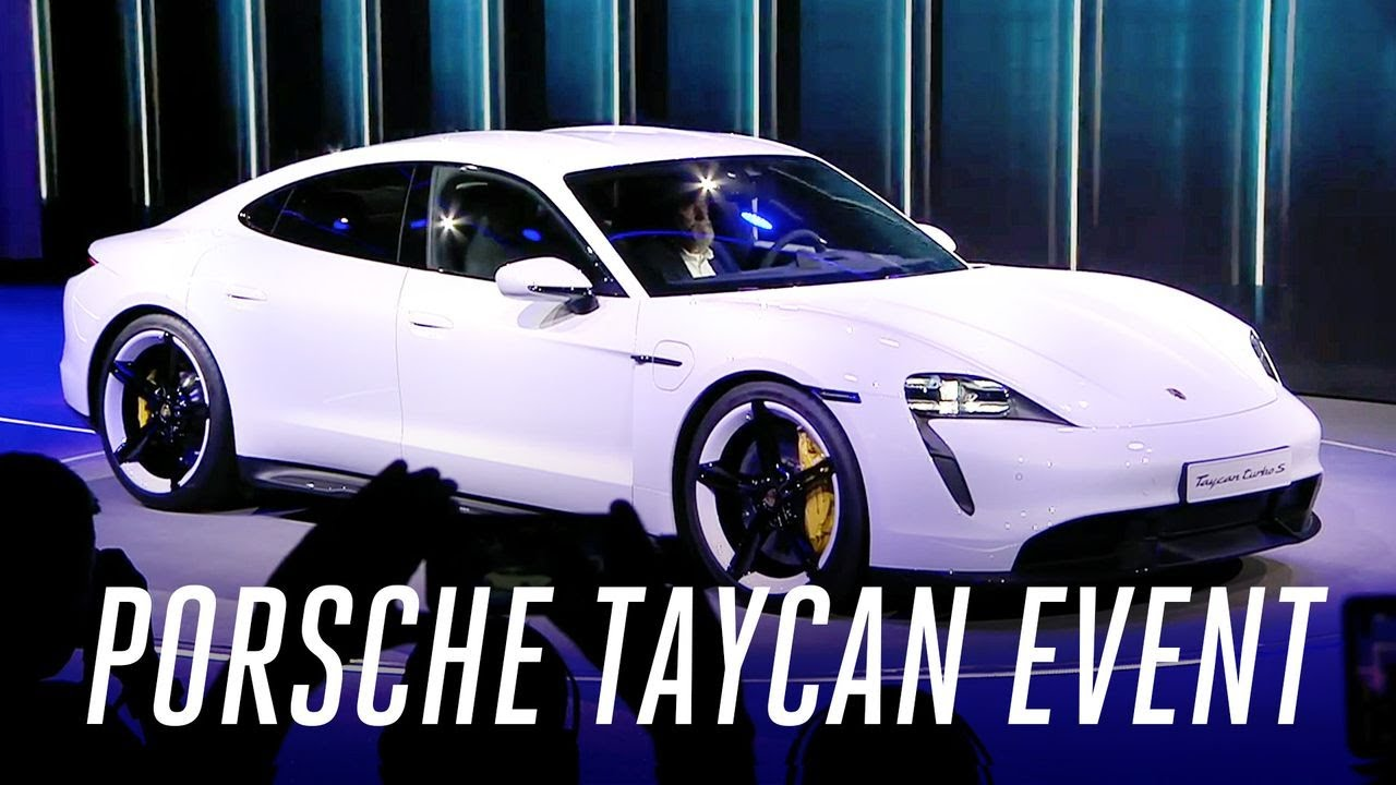 Porsche Taycan Event In 5 Minutes Youtube