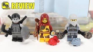 LEGO NINJAGO ELEMENTAL MASTERS MINIFIGURE PACK 853687 REVIEW