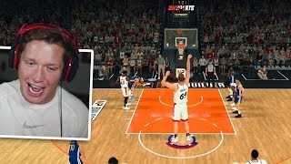 I MADE THE TALLEST CENTER YOU CAN - NBA 2K20 My Player Demo - Build #3