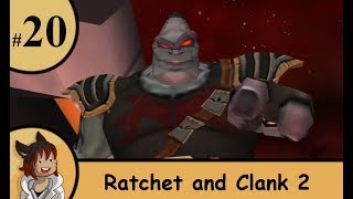 ratchet and clank 2 part 20 - turret jumping boss