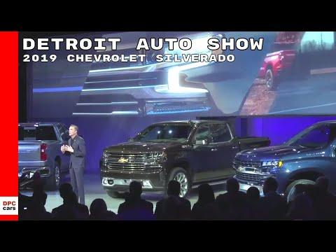 2019 Chevrolet Silverado Unveiling At Detroit Auto Show