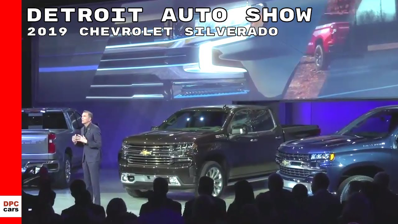 2019 chevrolet silverado unveiling at detroit auto show youtube. Black Bedroom Furniture Sets. Home Design Ideas