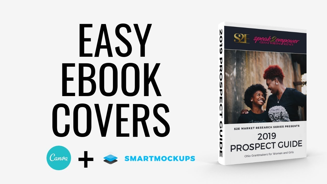 How to Make a 3D eBook Cover | Canva & Smart Mockups Tutorial
