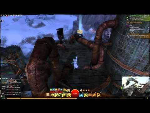Guild Wars 2 How to get the vista at Black Earth Coalmine Dredgehaunt Cliffs