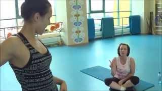 Похудение после родов. Персональный тренер. часть 2