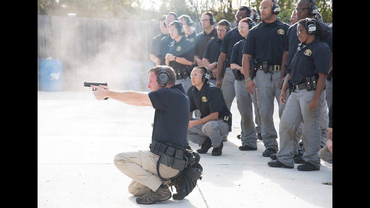 Police Academy Firearms Training
