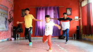 The wakhra Swag dance choreography by Sachin spidy