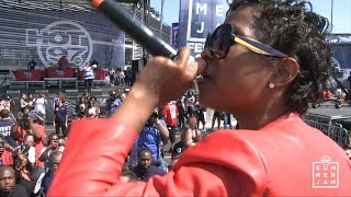 "Dej Loaf ""Try Me"" live at Summer Jam 2015"