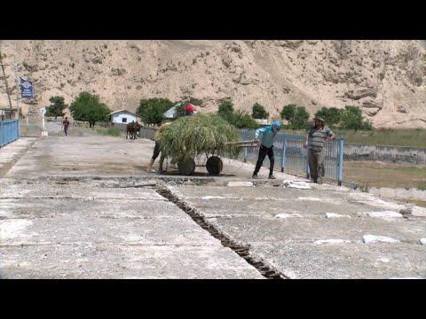 Дар ноҳияи Фархор таъмири пул боз мутаваққиф шуд