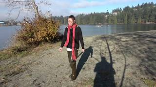 Bootkrazy Sexy Boot Videos Free Teaser: Cat's Lakeside Stroll