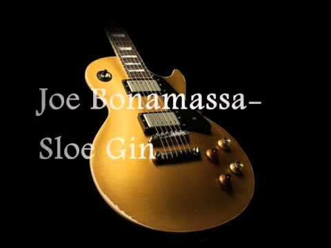 Joe Bonamassa- Sloe Gin Studio Version