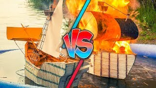 Epic Battle of Warships from Matches