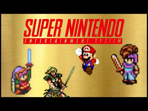 Top 30 Best SNES RPG & Action Adventure Games
