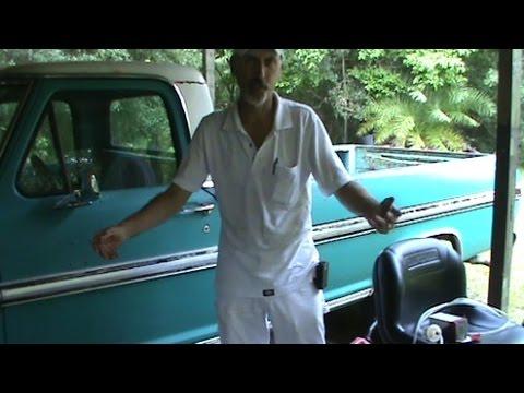 70\u0027s Ford Truck Easy Fuel Gauge Test - YouTube