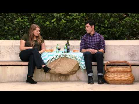 New Girl Deleted    Schmidt Has A Picnic With Elizabeth