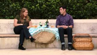 New Girl Deleted Scene -  Schmidt Has A Picnic With Elizabeth