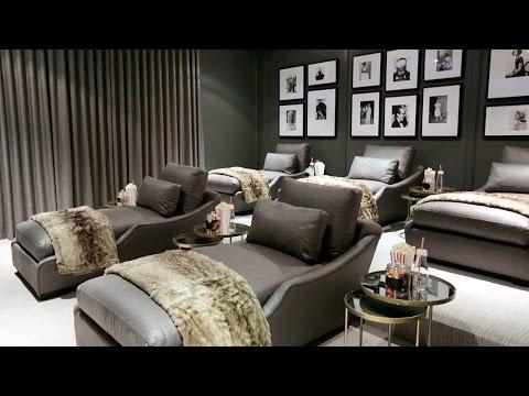 Interior Design – The 2015 Princess Margaret Showhome's Dream Basement Renovation